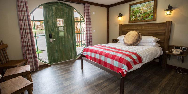 Pirate Room in Splash Landings Hotel at Alton Towers Resort