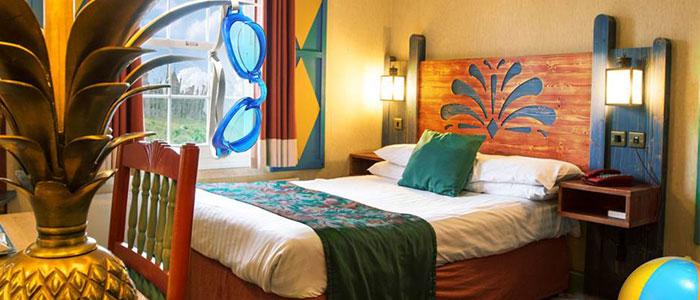 Splash Landings Hotel at Alton Towers
