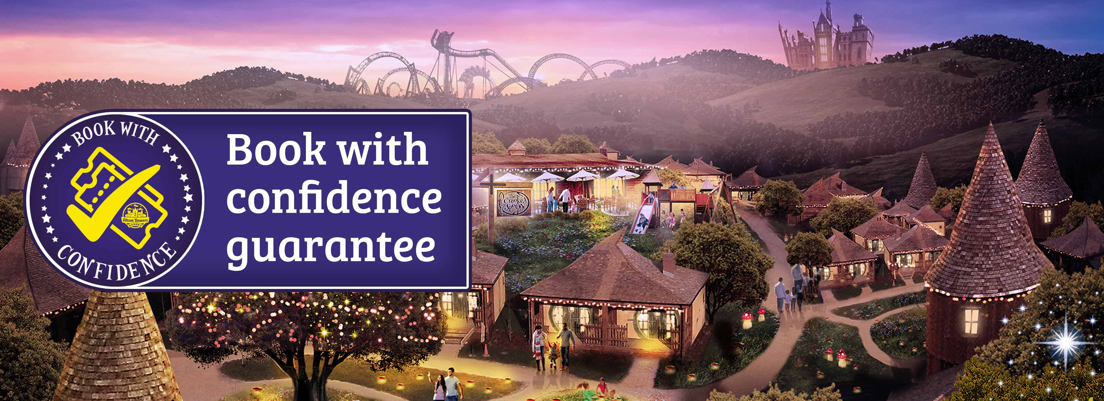 Book with confidence with Alton Towers Holidays