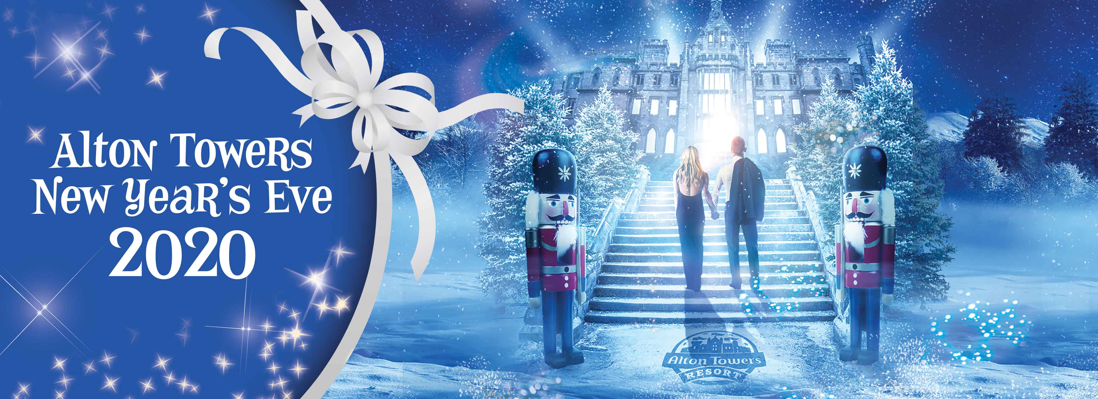 Ultimate 2020 New Year's Family Celebration at Alton Towers Resort