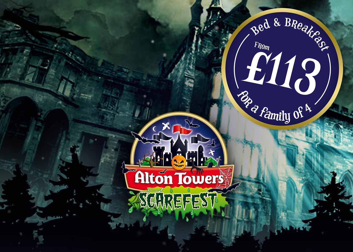 Scarefest 2019 — Halloween at Alton Towers Resort for familys and thrill-seekers