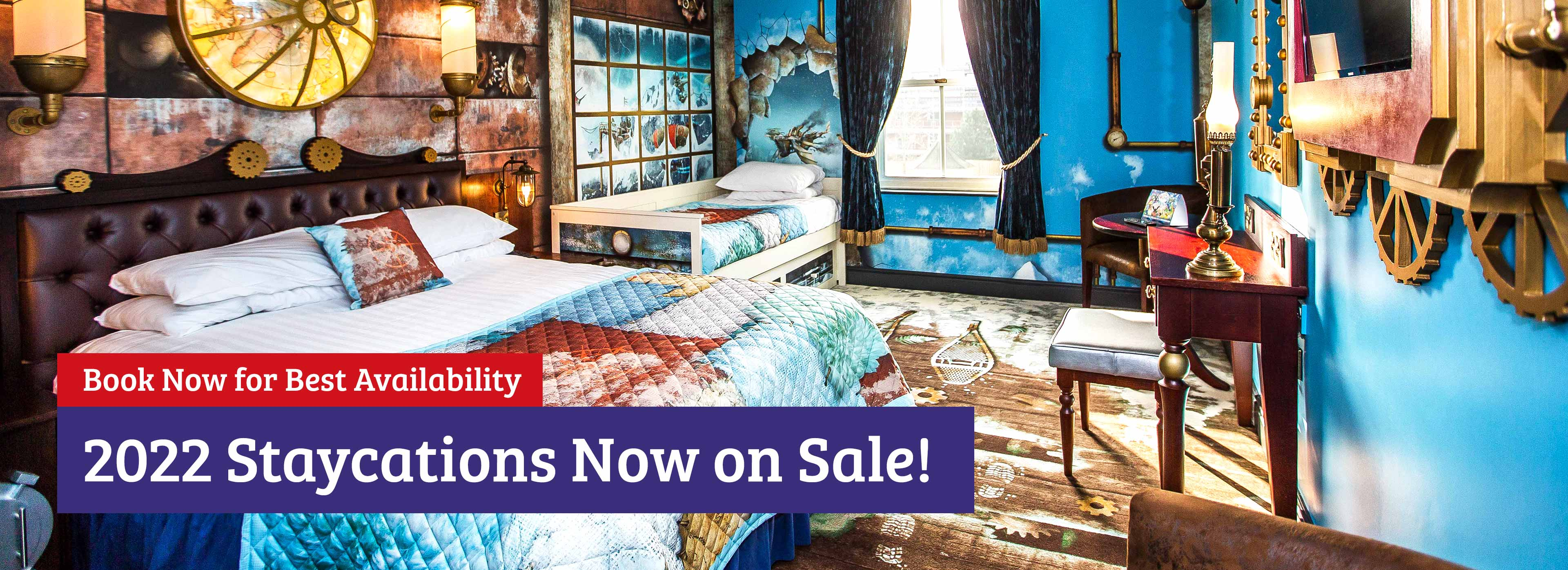 Book your 2022 staycation with Alton Towers Holidays