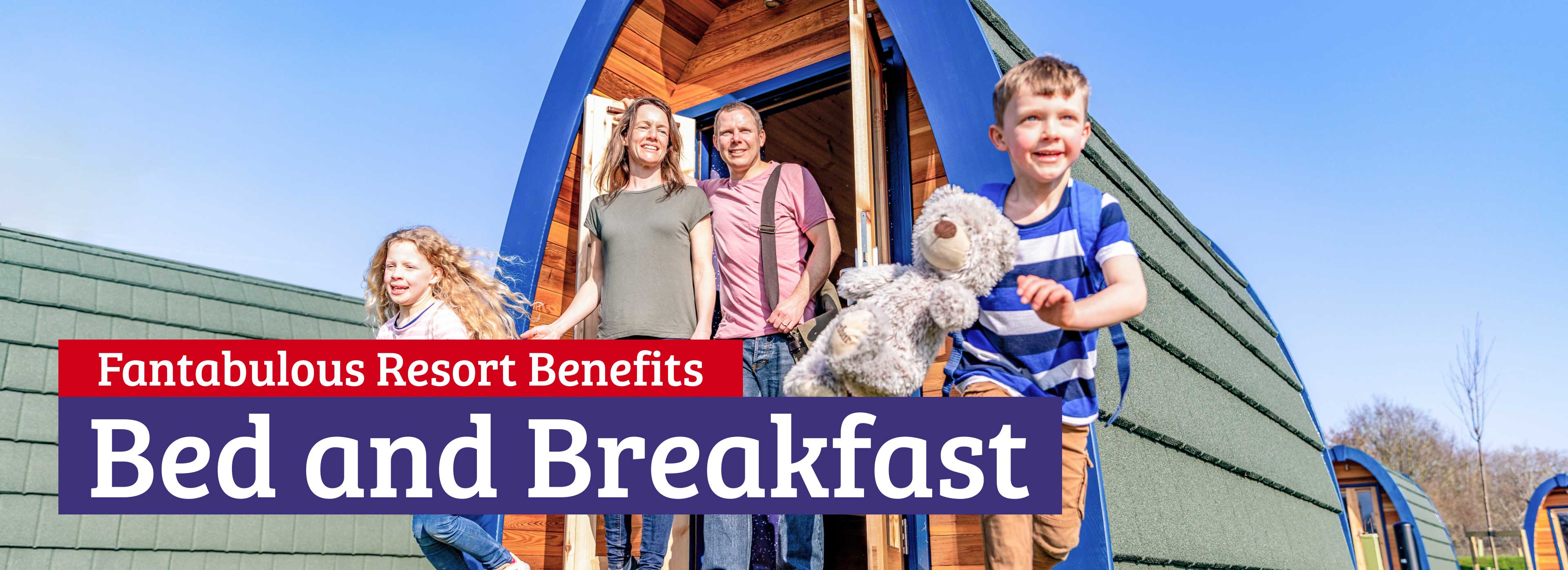 Bed and Breakfast at Alton Towers Resort