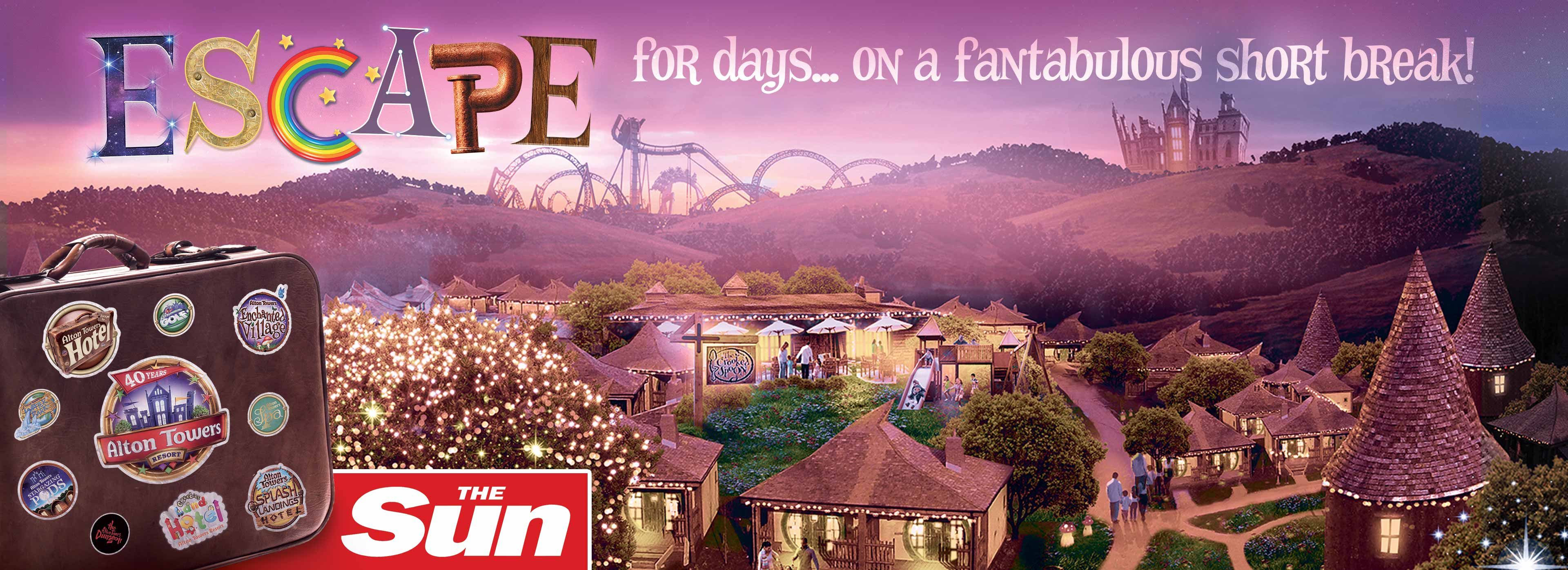 Save up to 40% with The Sun and Alton Towers Holidays